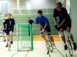 Unicycle Hockey